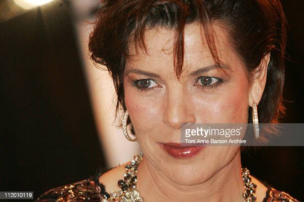 Princess Caroline of Hanover during '2007 Tziganie Monte Carlo Rose Ball' at Salle des Etoiles MonteCarlo Sporting Club in Monte Carlo Monaco