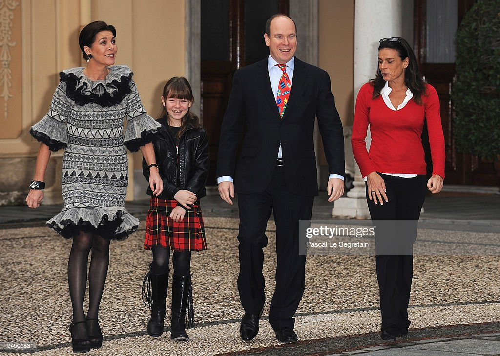 Royals Attend Christmas Tree Party At Monaco Palace