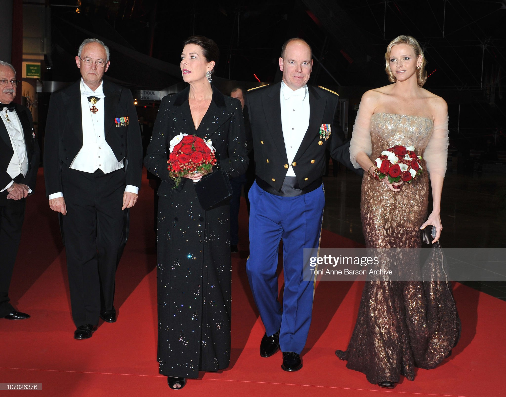 Monaco National Day 2010 - Gala Concert Arrivals : News Photo