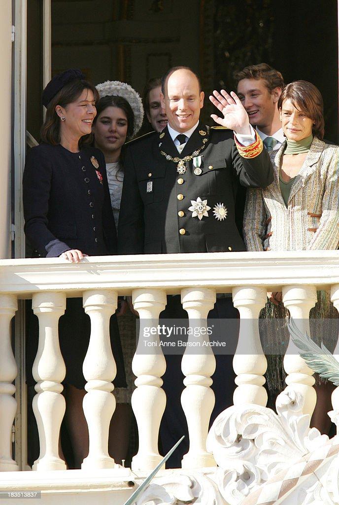 Princess Caroline of Hanover, HSH Prince Albert II of Monaco, Andrea Casiraghi, Pierre Casiraghi, Charlotte Casiraghi, Princess Stephanie of Monaco