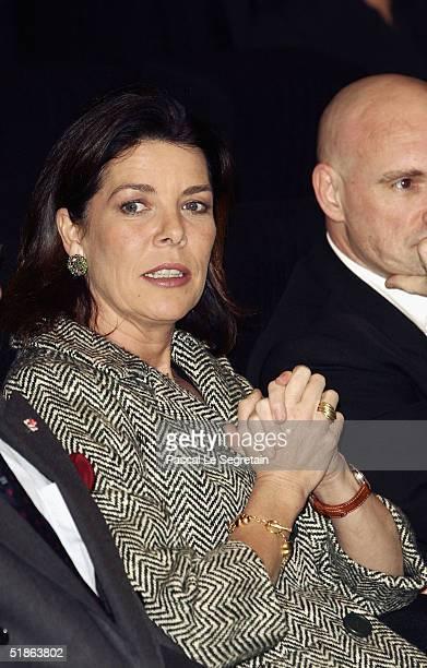 Princess Caroline of Hanover opens the Monaco Dance Forum on December 15 2004 in Monte Carlo Monaco