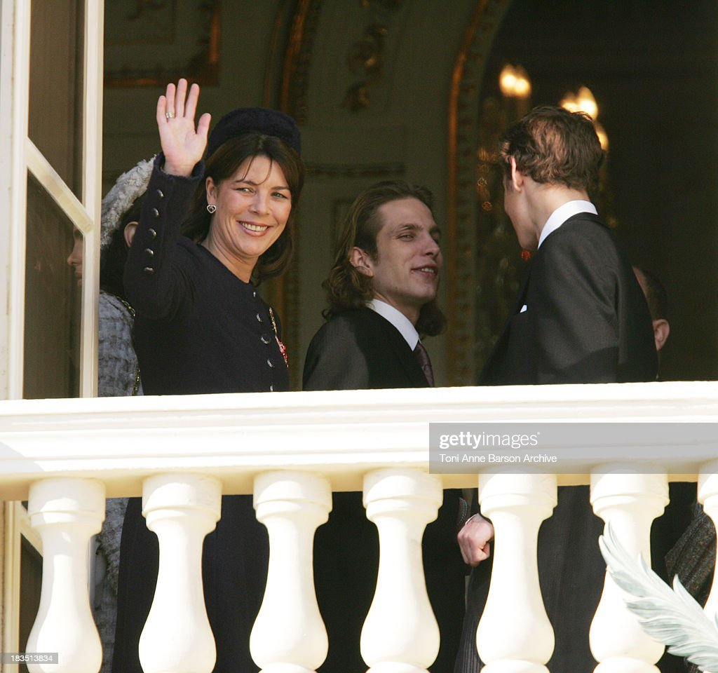 Princess Caroline of Hanover, Pierre Casiraghi and Andrea Casiraghi