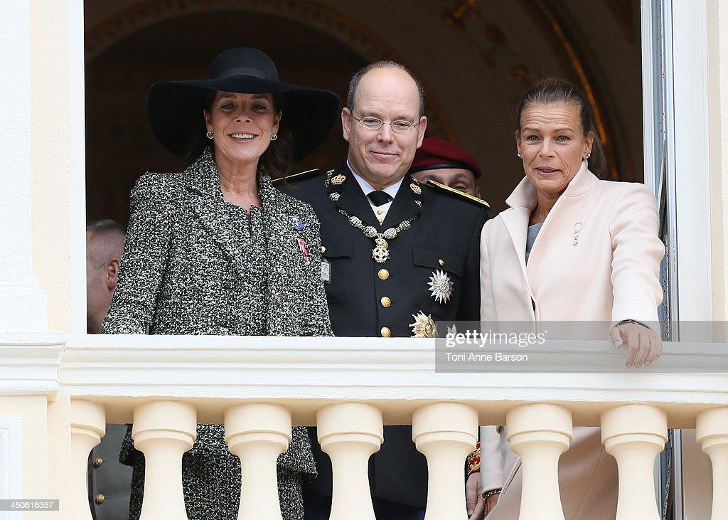 Monaco National Day 2013 - Balcony Parade : News Photo
