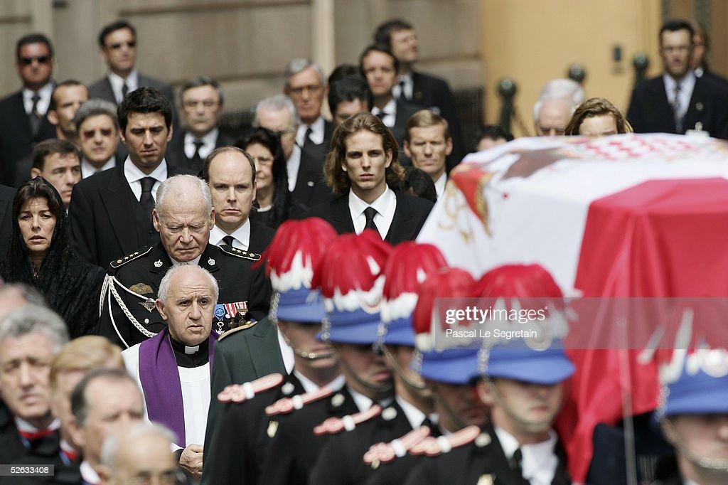 Funeral Of Monaco's Prince Rainier III : Nyhetsfoto