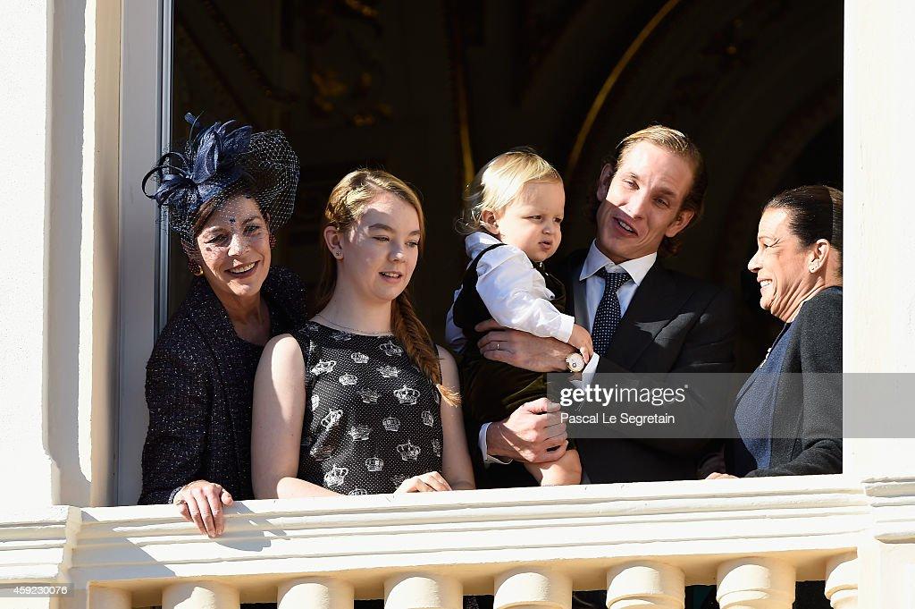 Monaco National Day 2014 - Balcony Parade : News Photo