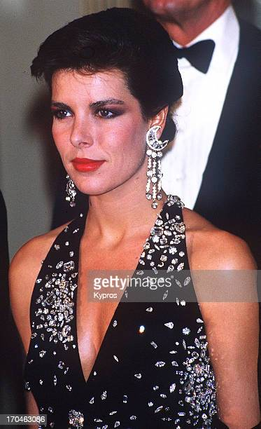 Princess Caroline Of Monaco, circa 1986.