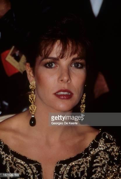 Princess Caroline of Monaco in Chambord, France on November 9, 1988.