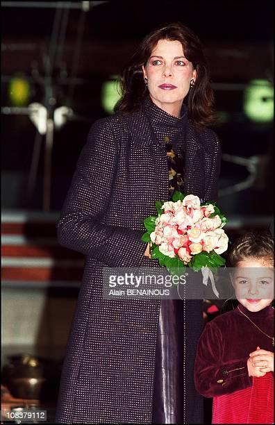 Princess Caroline Of Monaco Opens 'Dance Forum' in Monaco on December 13 2000