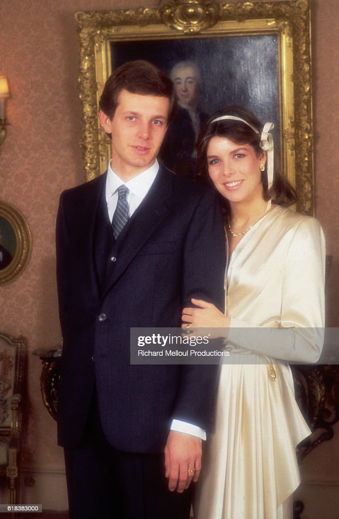 Wedding of Princess Caroline and Stefano Casiraghi : Photo d'actualité