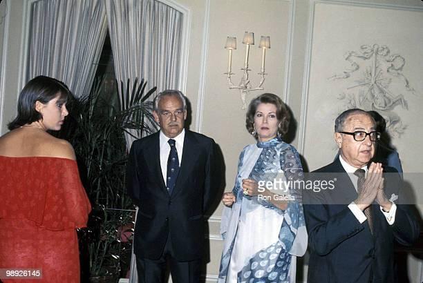 Princess Caroline Prince Rainier and Princess Grace of Monaco