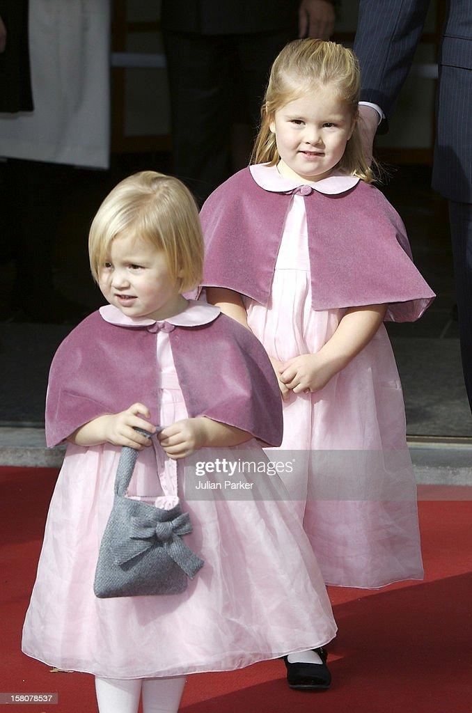 Christening Of Princess Ariane Of The Netherlands - Holland : Nieuwsfoto's