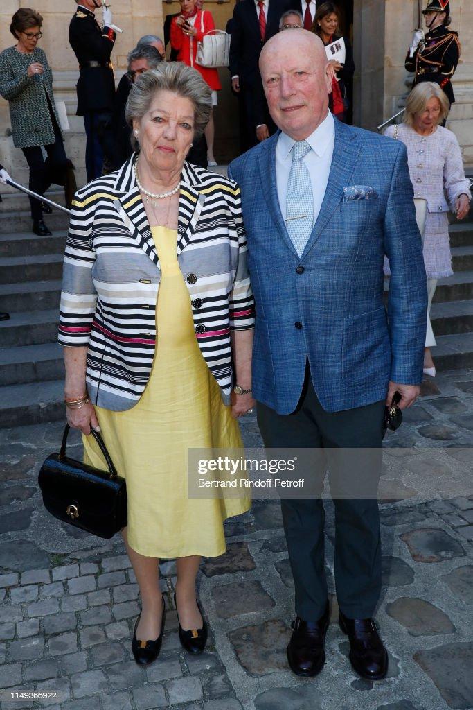 """Muriel Mayette-Holtz Becomes A Member Of The """"Academie Des Beaux-Arts"""" In Paris : News Photo"""