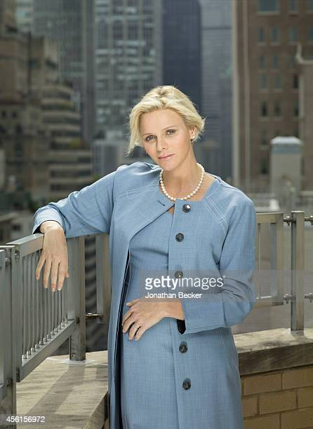 Princess Charlene of Monacco is photographed at the Regency Hotel on September 24 2014 in New York City