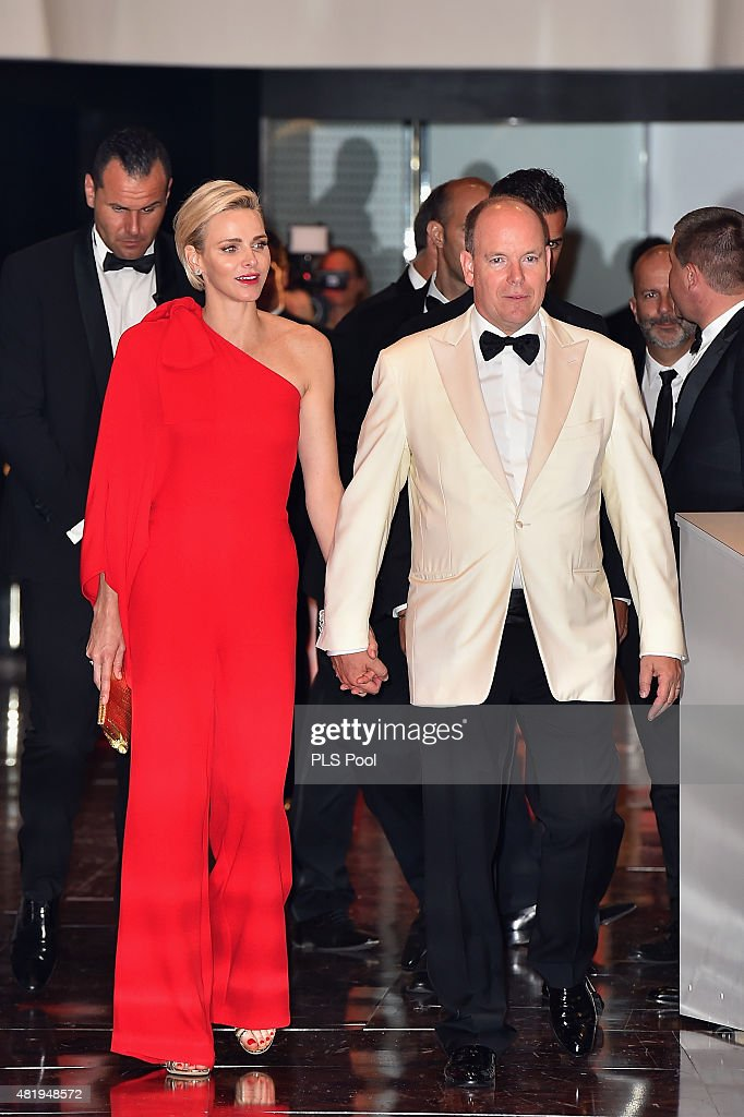 Monaco Red Cross Ball Gala : Fotografía de noticias