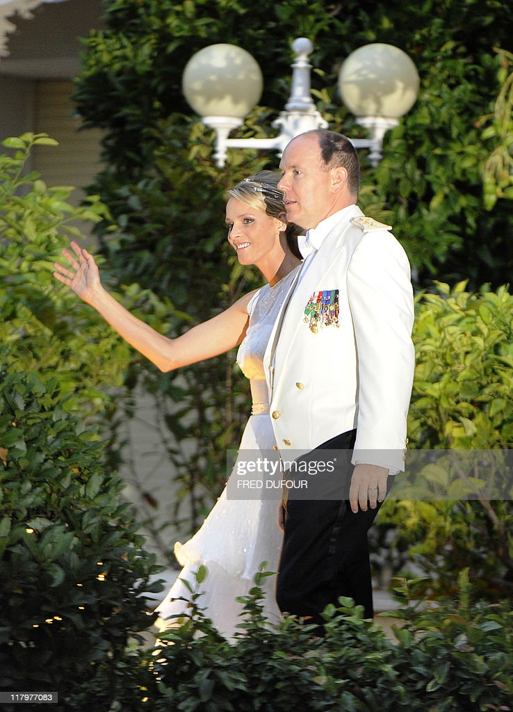 Princess Charlene of Monaco and Prince A : News Photo