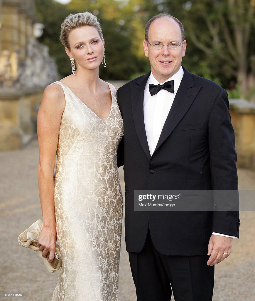 Prince Albert II And Princess Charlene of Monaco Attend Yorkshire Variety Club Golden Jubilee Ball