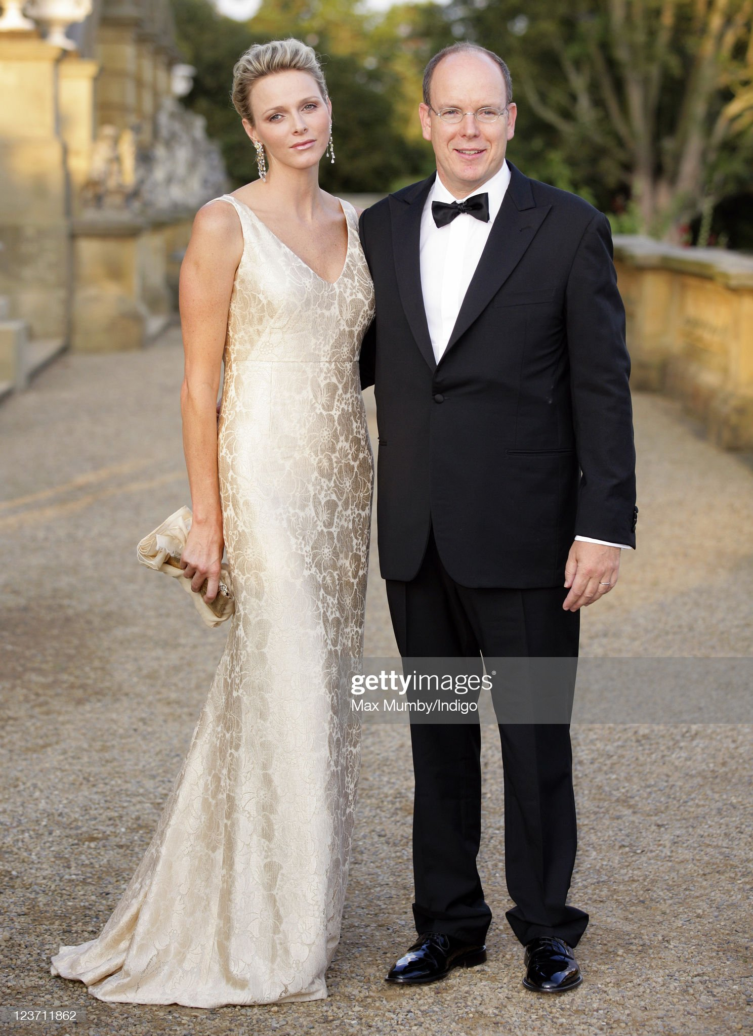 Prince Albert II And Princess Charlene of Monaco Attend Yorkshire Variety Club Golden Jubilee Ball : News Photo