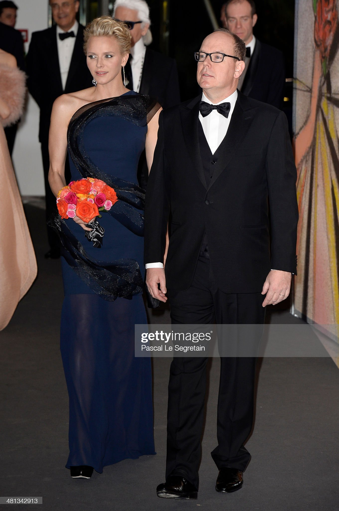 Rose Ball 2014 In Aid Of The Princess Grace Foundation In Monaco : News Photo