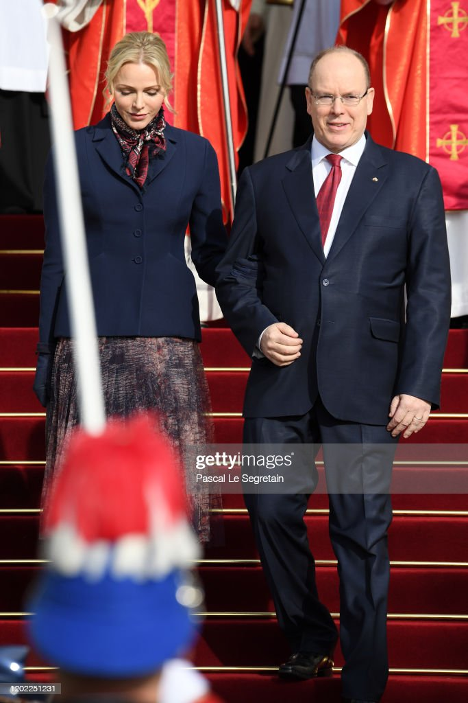 Ceremony Of The Sainte-Devote In Monaco : Foto di attualità