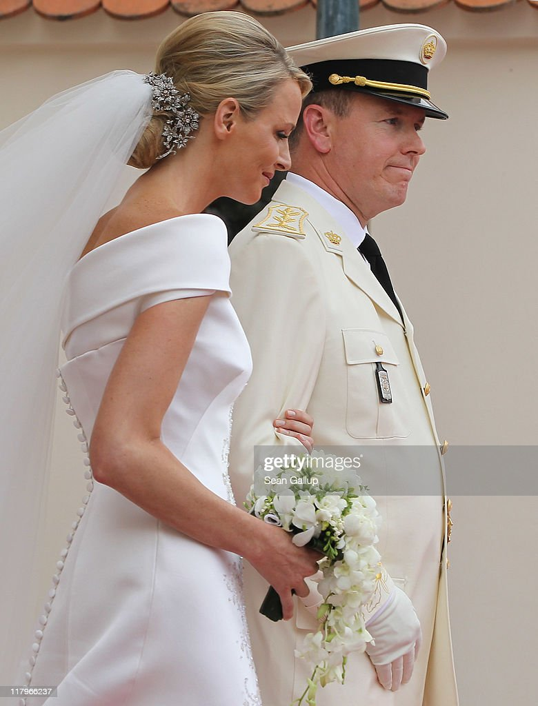 Monaco Royal Wedding - The Religious Wedding Ceremony : News Photo