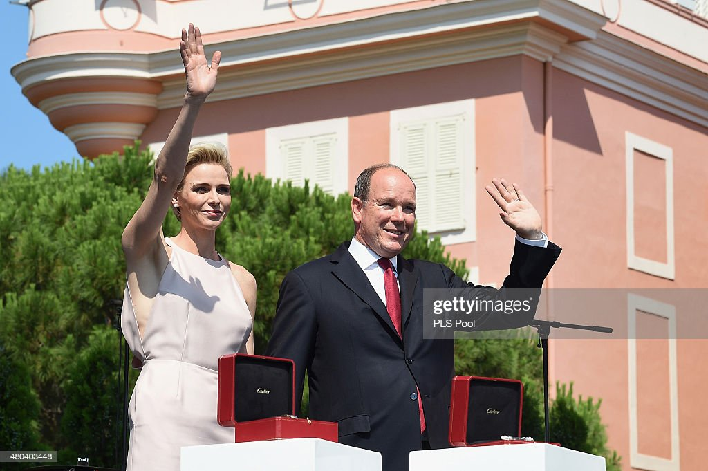 Prince Albert Of Monaco Celebrates 10 Years On The Throne : Day 1 : News Photo