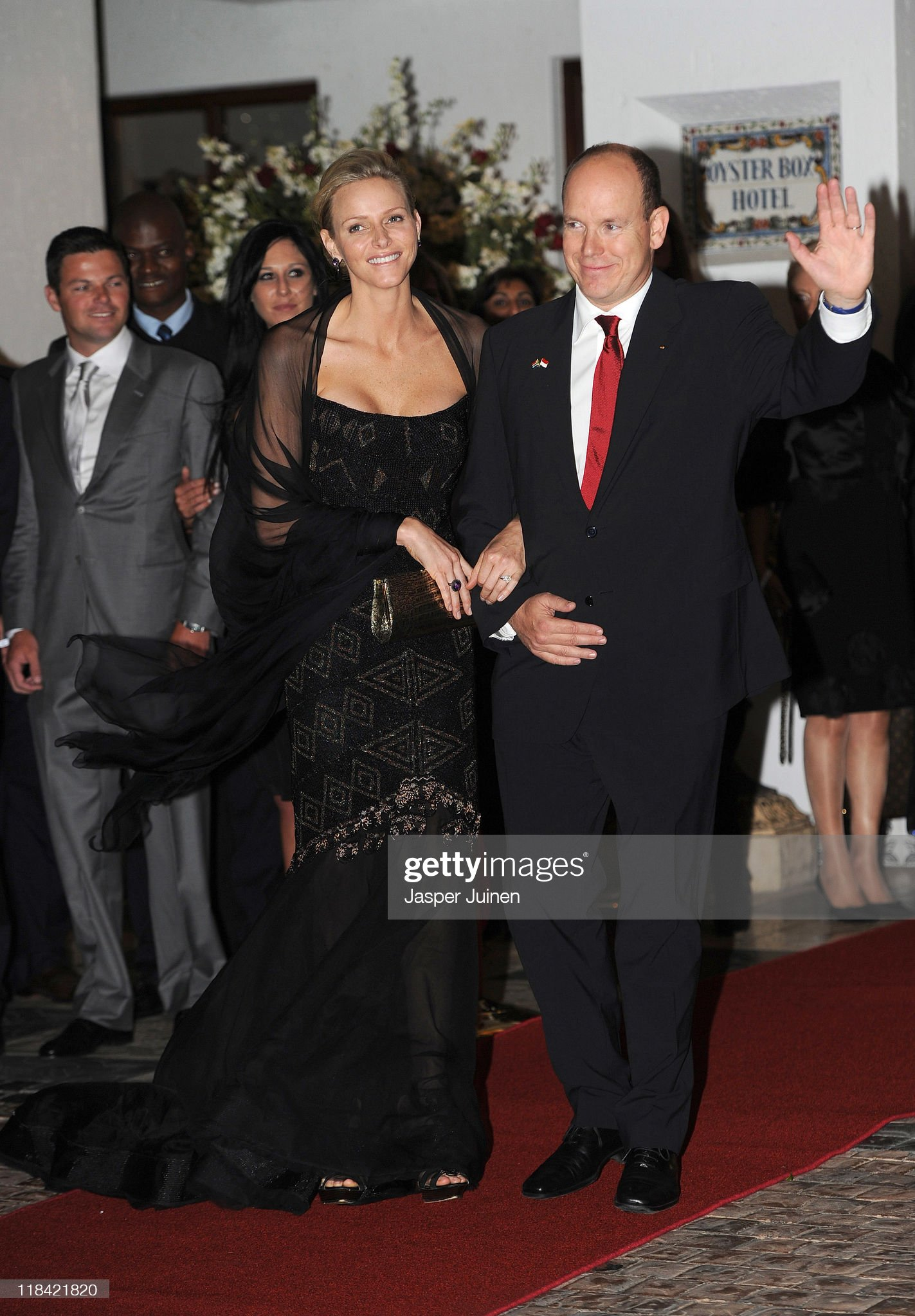 Princess Charlene and Prince Albert of Monaco Host Party in Durban : News Photo