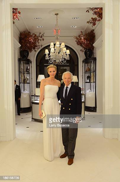 Princess Charlene of Monaco and Ralph Lauren attend as Ralph Lauren Presents Exclusive Screening Of Hitchcock's To Catch A Thief Celebrating The...