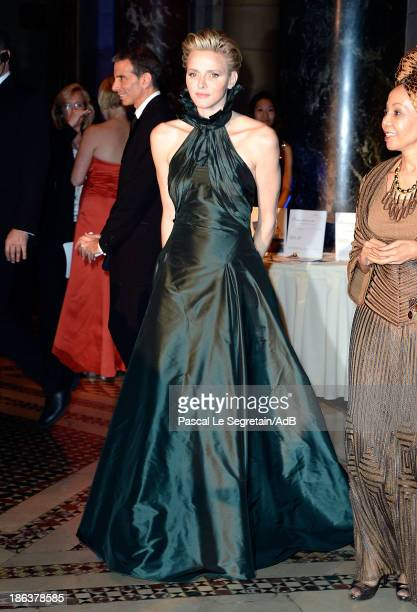 Princess Charlene of Monaco attends the 2013 Princess Grace Awards Gala at Cipriani 42nd Street on October 30 2013 in New York City