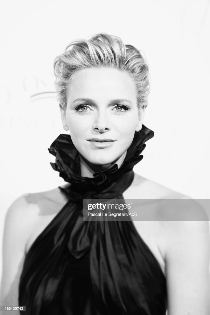 HSH Princess Charlene of Monaco attends the 2013 Princess Grace Awards Gala at Cipriani 42nd Street on October 30, 2013 in New York City.