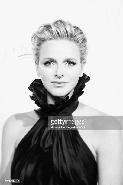 HSH Princess Charlene of Monaco attends the 2013 Princess Grace Awards Gala at Cipriani 42nd Street on October 30 2013 in New York City