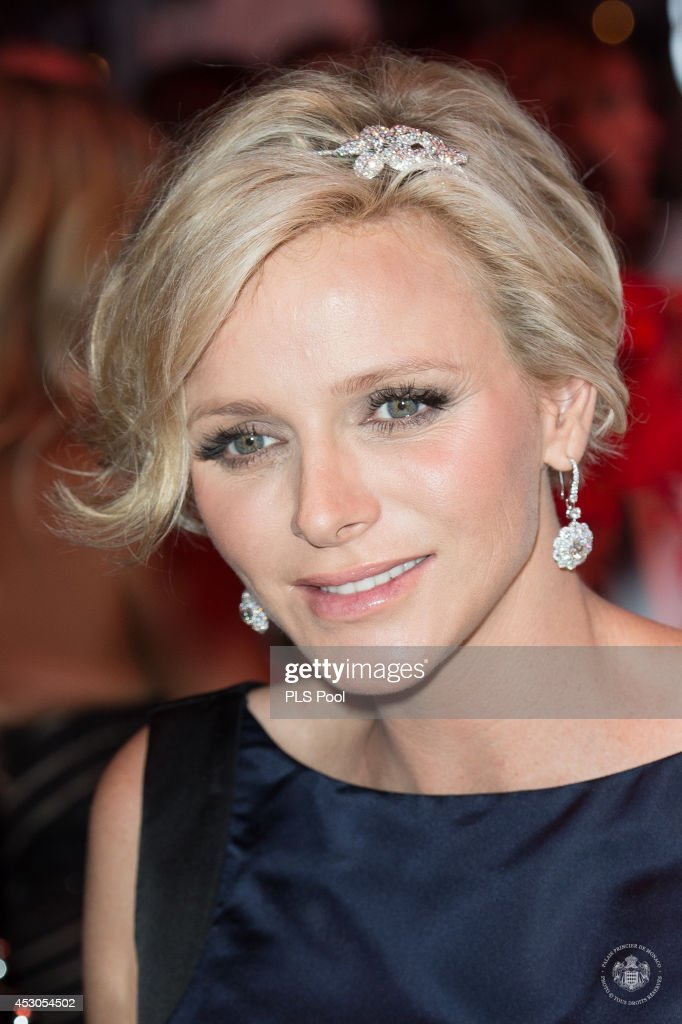 Princess Charlene of Monaco attends the 66th Monaco Red Cross Ball Gala at Sporting Monte-Carlo on August 1, 2014 in Monte-Carlo, Monaco.