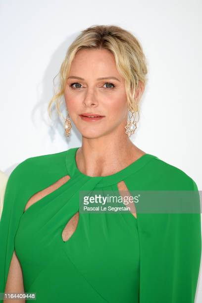 Princess Charlene of Monaco attends the 71th Monaco Red Cross Ball Gala on July 26, 2019 in Monaco, Monaco.