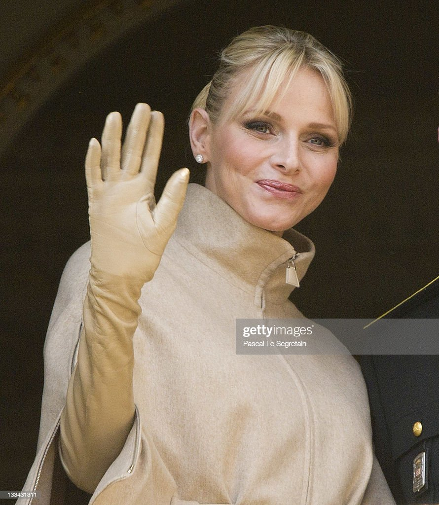 Princess Charlene of Monaco attends the National Day Parade as part of Monaco National Day Celebrations on November 19, 2011 in Monaco, Monaco.