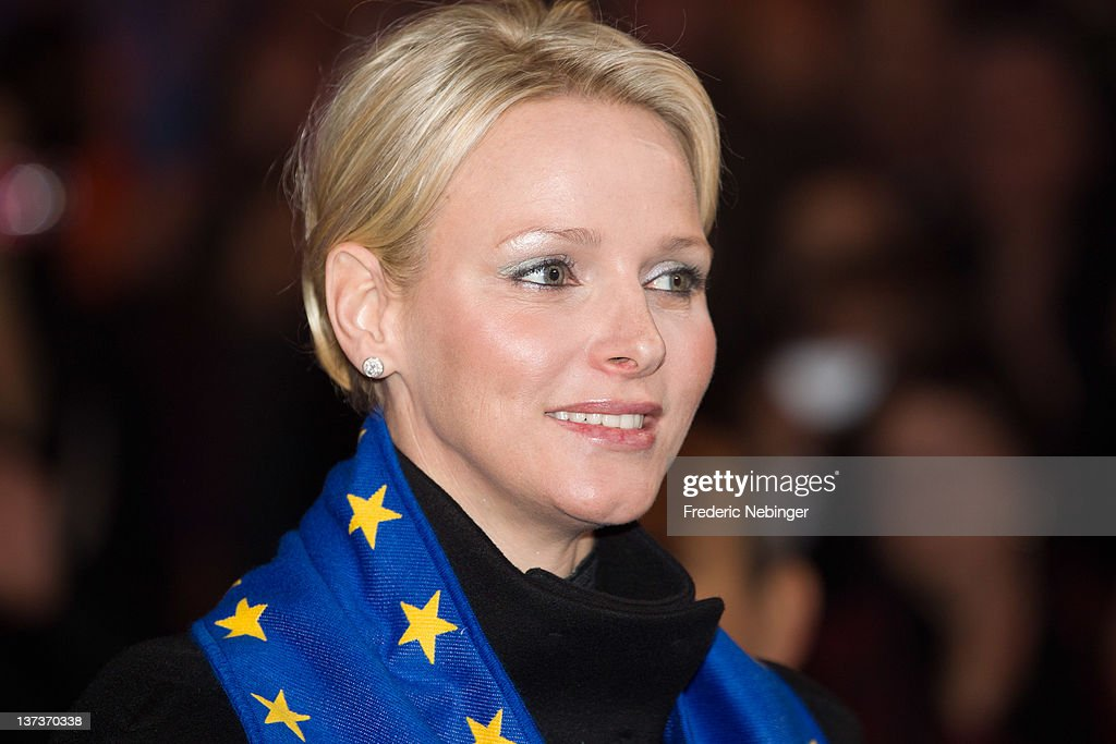 Princess Charlene of Monaco attends the opening of Monte-Carlo 36th International Circus Festival on January 19, 2012 in Monte-Carlo, Monaco.