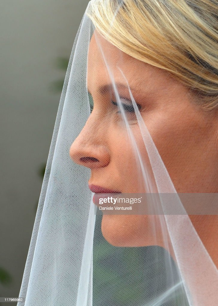Princess Charlene of Monaco attends the religious ceremony of the Royal Wedding of Prince Albert II of Monaco to Princess Charlene of Monaco in the main courtyard at the Prince's Palace on July 2, 2011 in Monaco. The Roman-Catholic ceremony follows the civil wedding which was held in the Throne Room of the Prince's Palace of Monaco on July 1. With her marriage to the head of state of the Principality of Monaco, Charlene Wittstock has become Princess consort of Monaco and gains the title, Princess Charlene of Monaco. Celebrations including concerts and firework displays are being held across several days, attended by a guest list of global celebrities and heads of state.