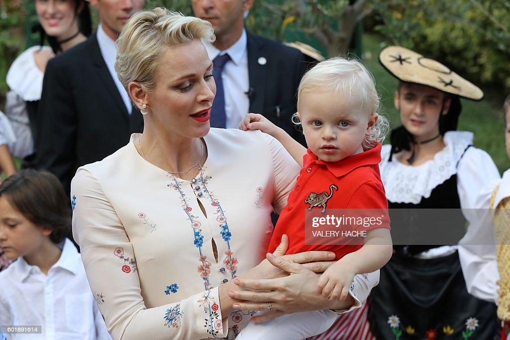 MONACO-ROYALS-PEOPLE : News Photo