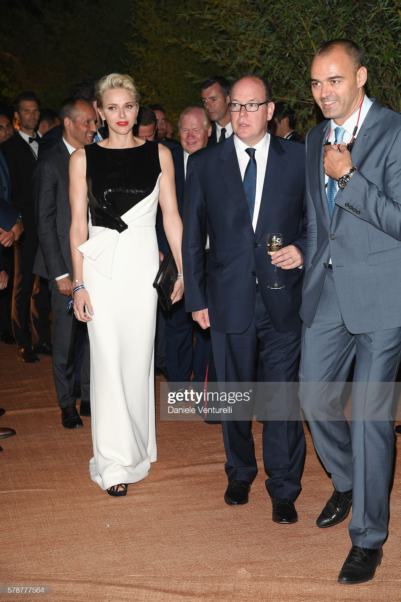 The Leonardo DiCaprio Foundation 3rd Annual Saint-Tropez Gala - Cocktail reception : News Photo