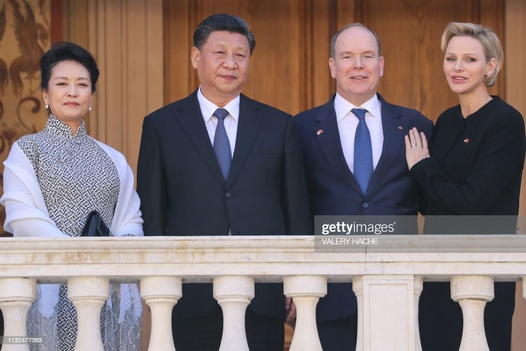MCO: Chinese President Xi Jinping on official visit to Monaco