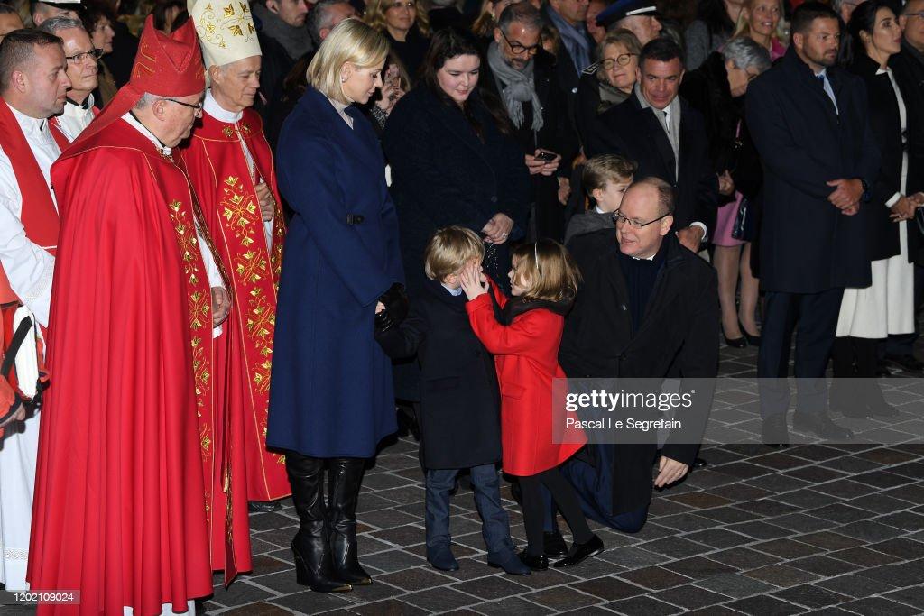 Ceremony Of The Sainte-Devote In Monaco : News Photo