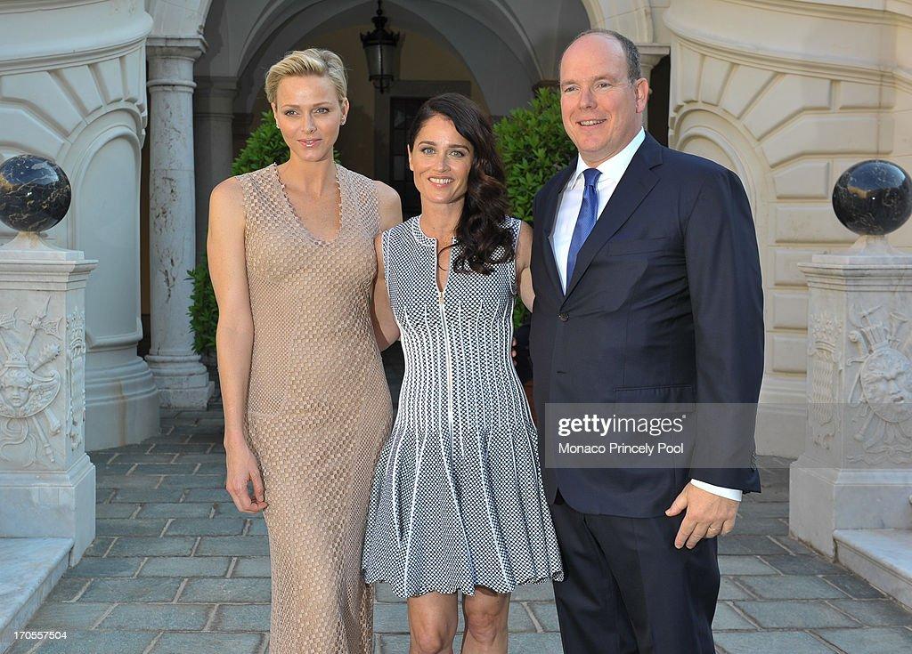 Monaco News: Princess Charlene Of Monaco, Robin Tunney And Prince
