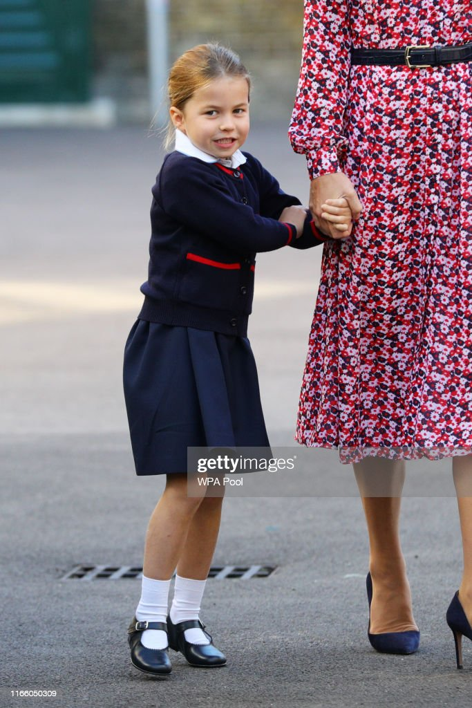 Princess Charlotte's First Day Of School : News Photo
