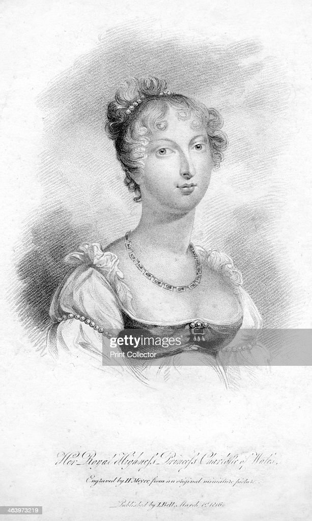 Princess Charlotte Augusta of Wales, 1816.Artist: H Meyer : News Photo