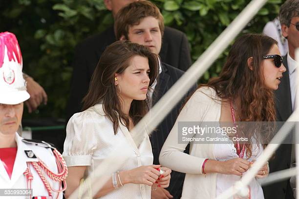Princess Charlotte Casiraghi attends the 64th F1 Grand Prix of Monaco