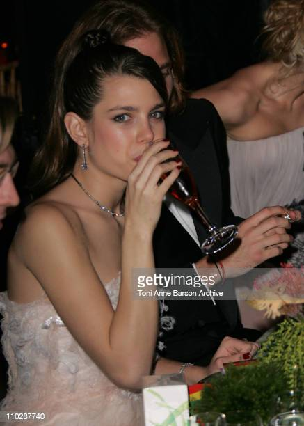 Princess Charlotte Casiraghi during Monte Carlo Sporting Club at 2006 Monaco Reggae Rose Ball Dinner in Monte Carlo Monaco