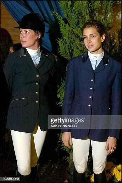 Princess Charlotte in Bois Le Roi France on November 23 2002