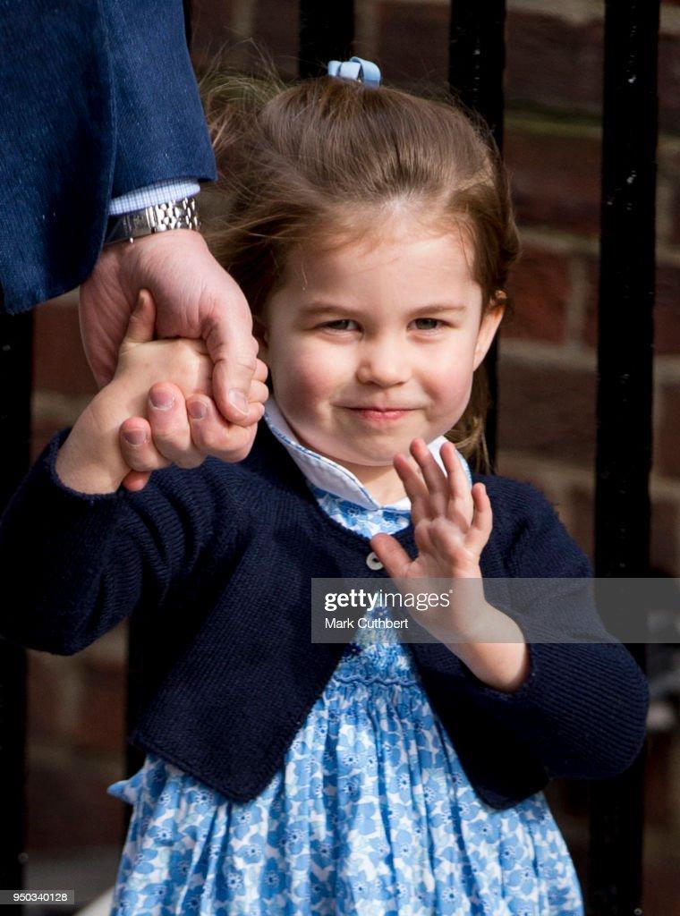 The Duke & Duchess Of Cambridge Depart The Lindo Wing : News Photo