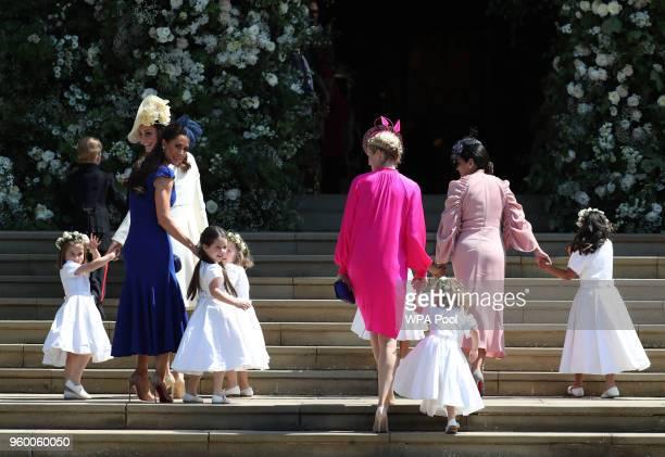 Princess Charlotte of Cambridge Catherine Duchess of Cambridge Jessica Mulroney Ivy Mulroney Florence van Cutsem Zoe Warren Zalie Warren Benita Litt...