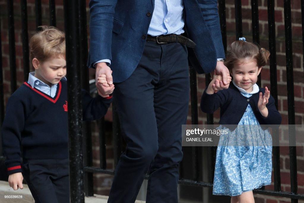 BRITAIN-ROYALS-BABY-BIRTH : ニュース写真