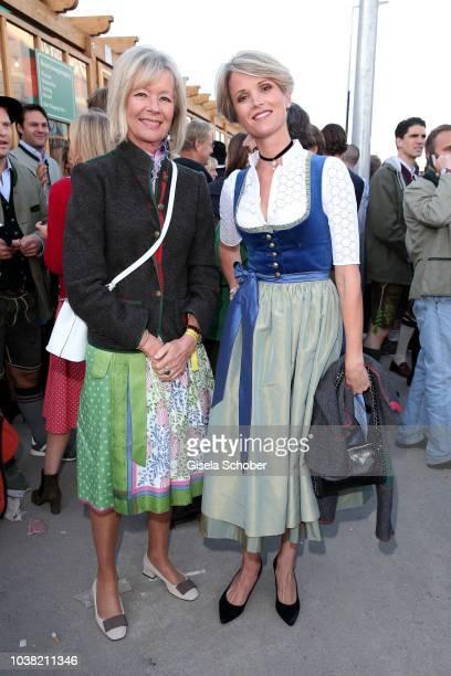 Princess Charlotte von Bismarck and her daughter Stephanie zu Guttenberg during the Oktoberfest 2018 opening and Lodenfrey Wiesn Schuetzenfesthalle,...