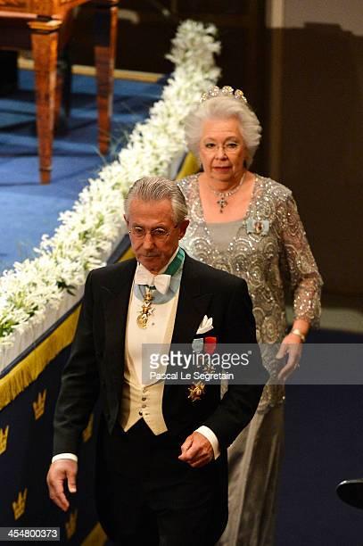 Princess Christina Mrs Magnuson and Tord Magnuson attend the Nobel Prize Awards Ceremony at Concert Hall on December 10 2013 in Stockholm Sweden